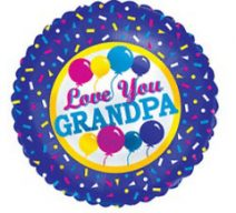 i love you grandpa balloon