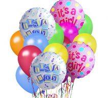 New Baby Balloon Bouquet