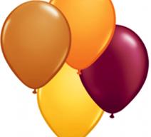 Autumn Color Latex Balloons