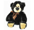 Black Velvet Teddy Bear