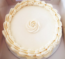 Vanilla Victory Buttercream Cake