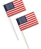 American Flag Toppers