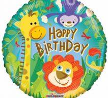 Birthday Jungle Mylar