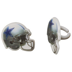 Dallas Cowboys Helmet Cupcake Toppers The Cupcake Delivers