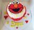 Giant Elmo Cupcake