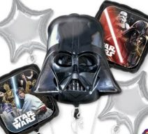 darth vader and star wars balloons