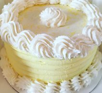 3 Layer Lemon Luxe Cake