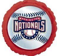 Washington Nationals Baseball Mylar