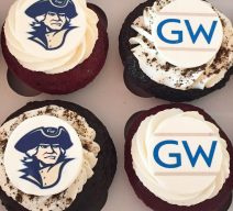 Personalized grad cupcakes