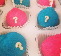 Gender Reveal Cake Pops