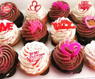 Be My Valentine Cupcakes
