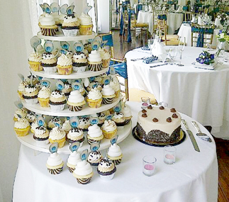 wedding cupcakes in Fairfax, VA
