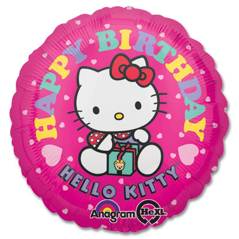 Hello Kitty Birthday Balloon