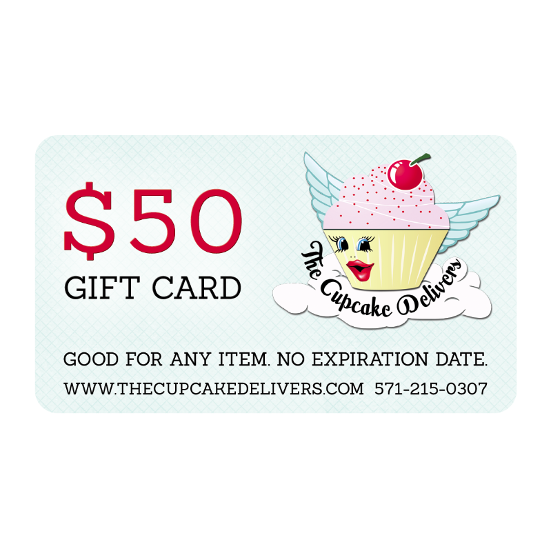 E Gift Certificates The Cupcake Delivers