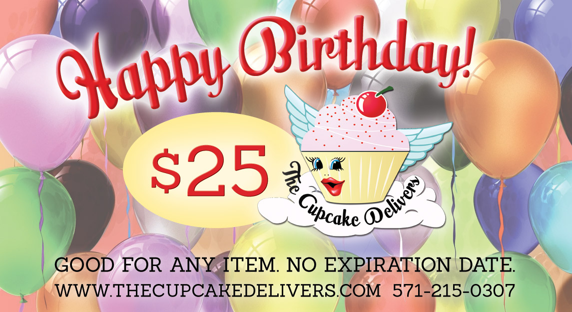 We Offer Gourmet Artisan Cupcakes Cakes Balloons Cake Pops And Oreos Delivery