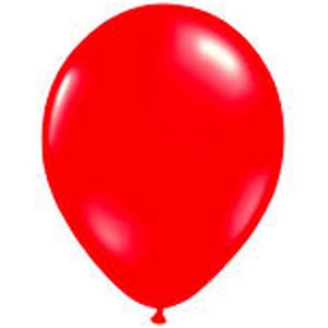 Standard Red Latex Balloon