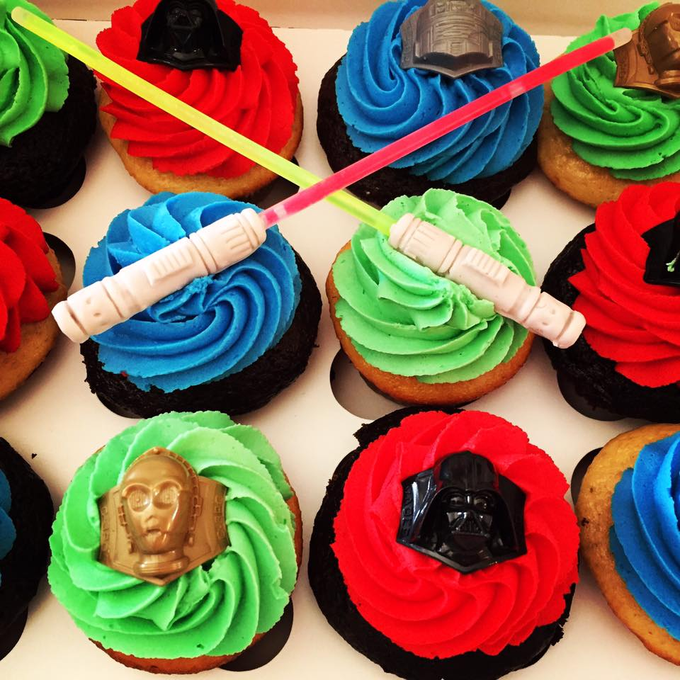 Star Wars 174 Cupcakes The Cupcake Delivers