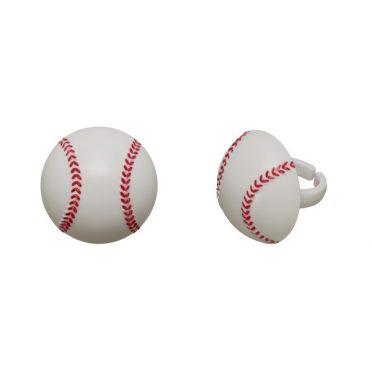 Baseball Cupcake Topper