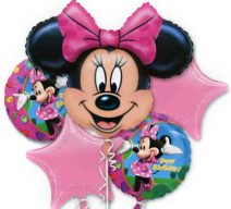 Minne Mouse Birthday Balloon Bouquet