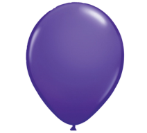 standard purple latex balloon