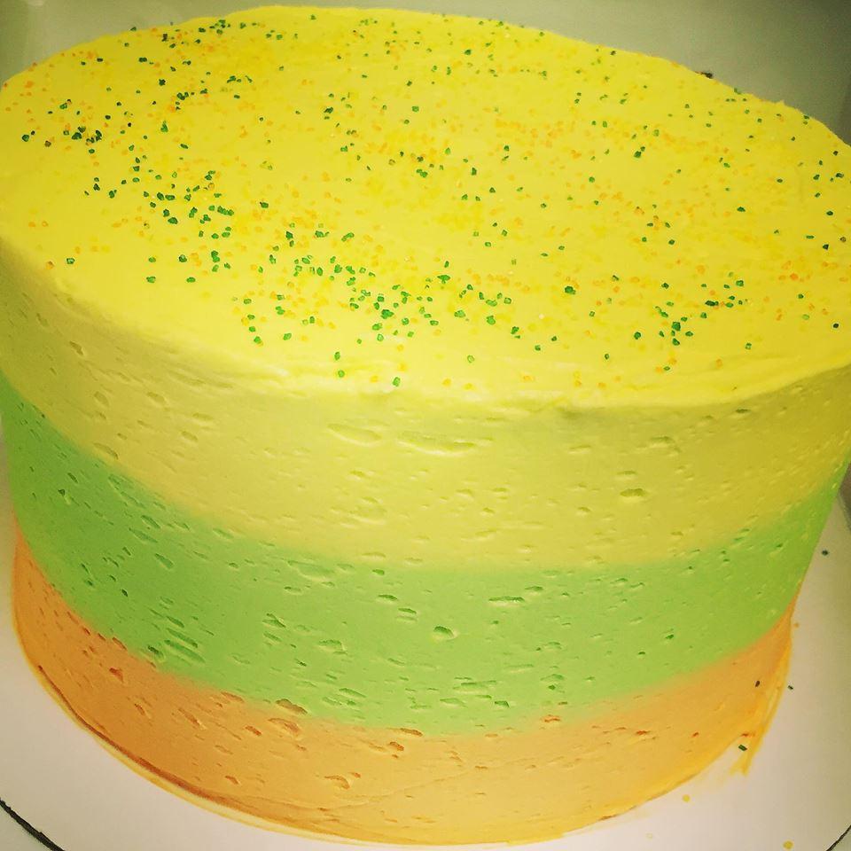 Sherbert Summer 3 Layer Cake 7000