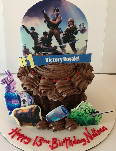 Fortnite images for cake
