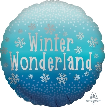 Winter Wonderland Balloon