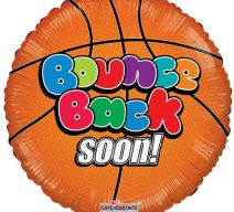 Bounce Back Soon Basketball Balloon