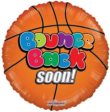 Bounce Back Soon Basketball Balloon