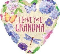 I Love You Grandma Balloon