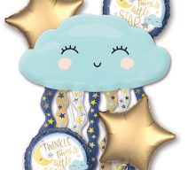 Twinkle Twinkle Little Star Balloon Bouqet