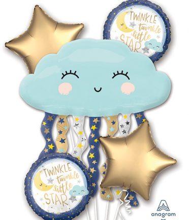 Twinkle Twinkle Little Star Balloon Bouqet