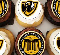 VCU graduation cupcakes