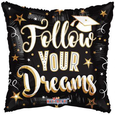 follow your dreams balloon