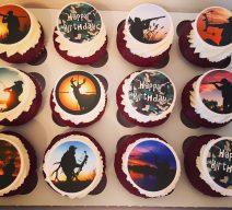 Sportsman Cupcakes