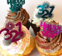 count it down happy new year 2020 cupcakes